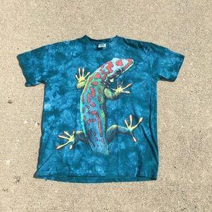 Vintage Single Stitch Tie Dye Lizard T-Shirt